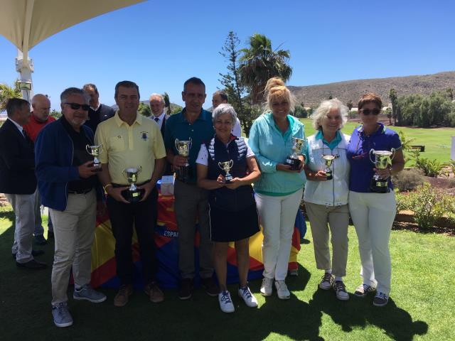 Laura Batista and Carlos Vega wins the Spanish Senior International P&P Championship 2019