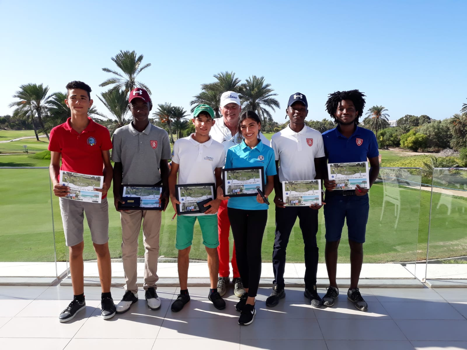 Jean-Luc Pannetier won the Djerba African P&P Open 2019